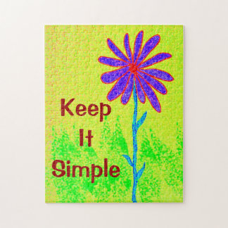 Wild Flower Keep It Simple Puzzles