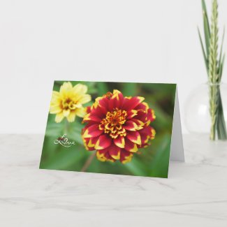 Wild Flower Love Card