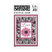 Wild Flower LOVE Stamp