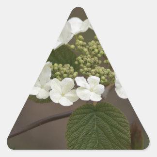 Wild flower mug triangle sticker