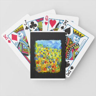 wild flowers 677130.JPG Bicycle Playing Cards
