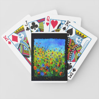 wild flowers 677140.JPG Bicycle Playing Cards