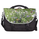 Wild flowers bags for laptop
