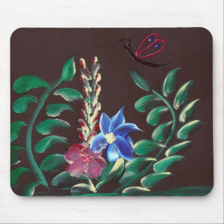 Wild Flowers by ruby dubin Mouse Pad