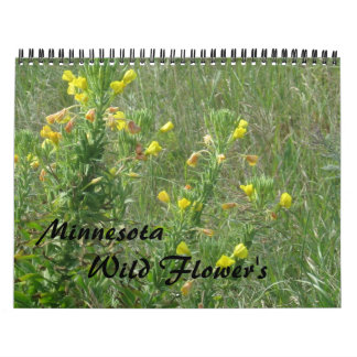 Wild flowers calendars