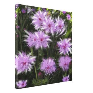 wild flowers gallery wrap canvas