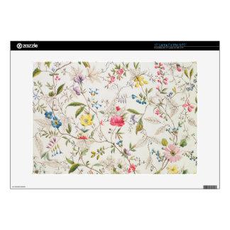 "Wild flowers design for silk material, c.1790 (w/c 15"" laptop skins"