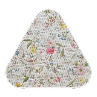 Wild flowers design for silk material, c.1790 (w/c speaker