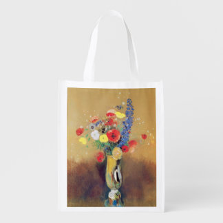 Wild flowers in a Long-necked Vase, c.1912 Market Tote