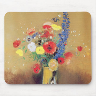Wild flowers in a Long-necked Vase, c.1912 Mouse Pad