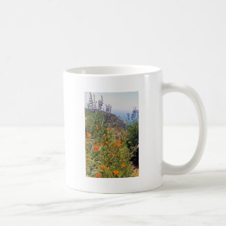 Wild flowers in the sun coffee mug