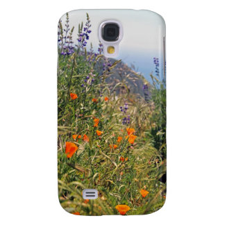 Wild flowers in the sun samsung galaxy s4 cover