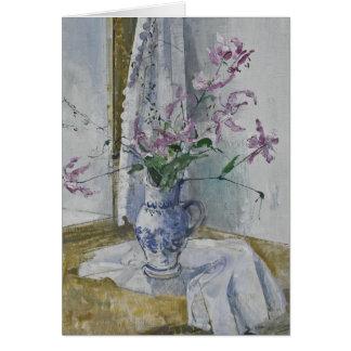 Wild Flowers in the Vase Stanislav Stanek Card