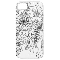 Wild Flowers iPhone SE/5/5s Case