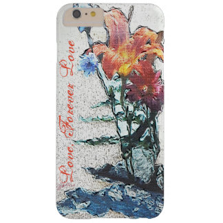 Wild Flowers jjhelene Love Forever Barely There iPhone 6 Plus Case