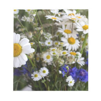 Wild flowers notepad