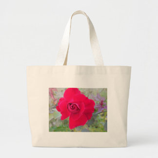 Wild Flowers of the Field Large Tote Bag