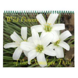 Wild Flowers, of the Ocmulgee Trail Calendars