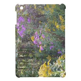 Wild Flowers on the Wooded Trail iPad Mini case