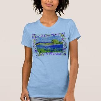 wild flowers purple drip T-Shirt
