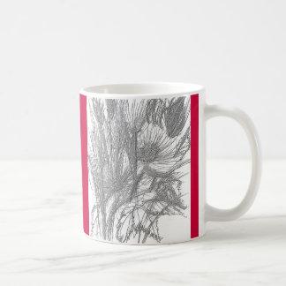 Wild Flowers Sketch Coffee Mug