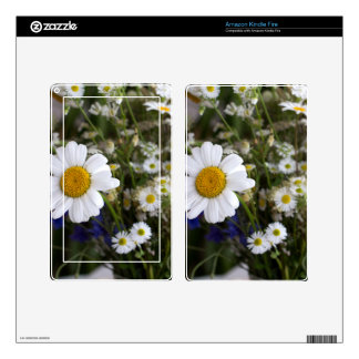 Wild flowers skins for kindle fire