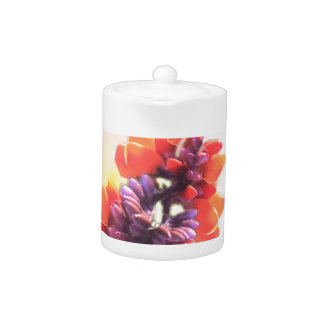 Wild flowers teapot
