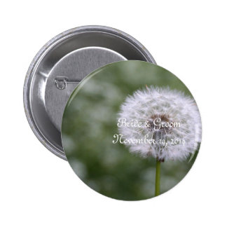 Wild Flowers Wedding Invitations and Favors 2 Inch Round Button