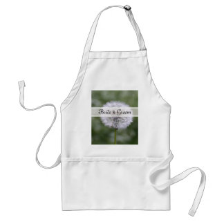 Wild Flowers Wedding Invitations and Favors Adult Apron