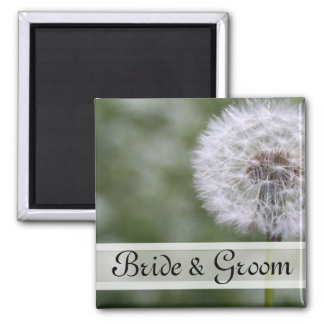 Wild Flowers Wedding Invitations and Favors Magnet