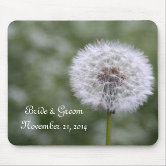 Wild Flowers Wedding Invitations and Favors Mouse Pad