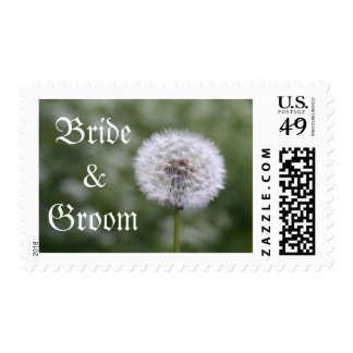 Wild Flowers Wedding Invitations and Favors Postage