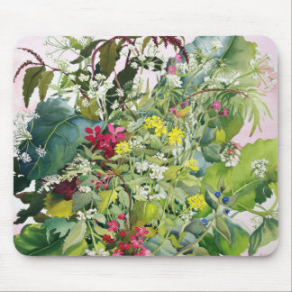 Wild Flowers with Comfrey and Campion Mouse Pad