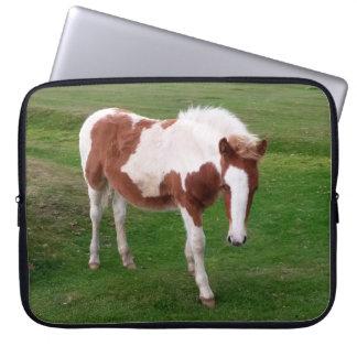Wild Foals on Bodmin Moor Cornwall England Laptop Sleeve