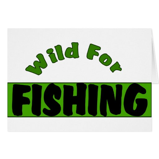 Wild For Fishing Cards