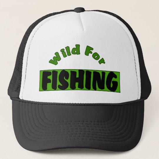Wild For Fishing Trucker Hat