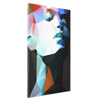 Wild for the night 01. gallery wrapped canvas