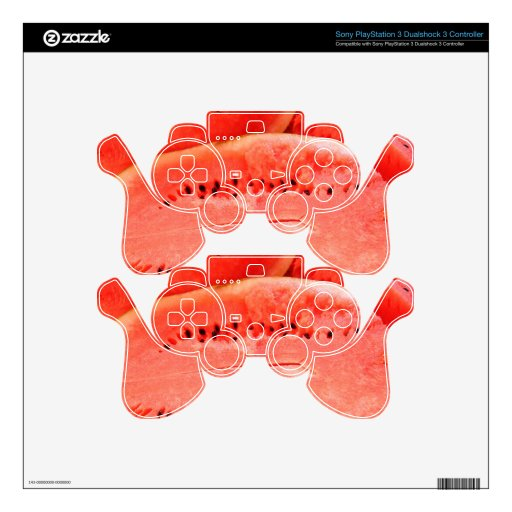 Wild for Watermelons Skins For PS3 Controllers