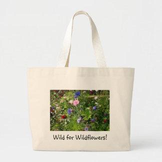 Wild for Wildflowers! Jumbo Tote Bag