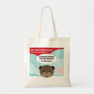 Wild for Winter Tote Bag
