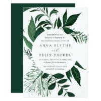Wild Forest Wedding Invitation