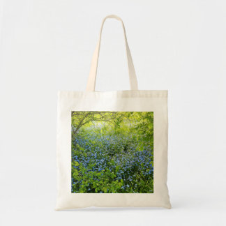 Wild forge me nots flowers photo tote bag