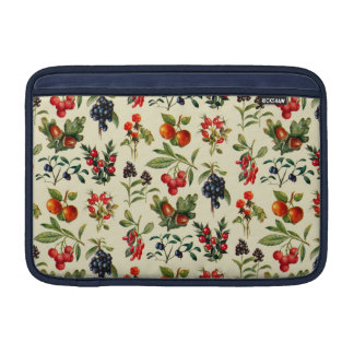Wild Fruits Of The Countryside MacBook Air Sleeves
