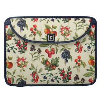 Wild Fruits Of The Countryside MacBook Pro Sleeve