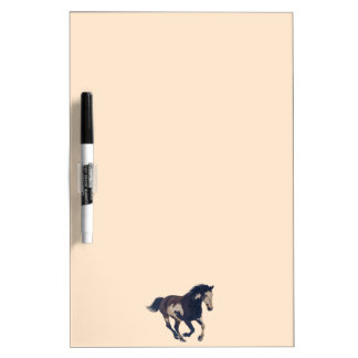 Wild Galloping Pinto American Paint Horse Dry-Erase Whiteboard