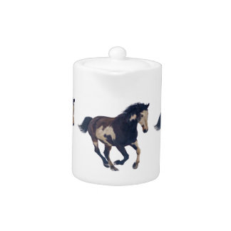 Wild Galloping Pinto American Paint Horse