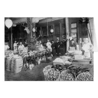 Wild Game & Seafood Market, 1895 Card