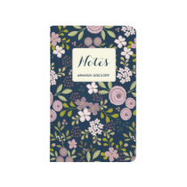 Wild Garden Personalized Floral Journal