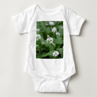 Wild garlic or ramsons Allium ursinum Baby Bodysuit