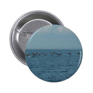 Wild Geese Pinback Button
